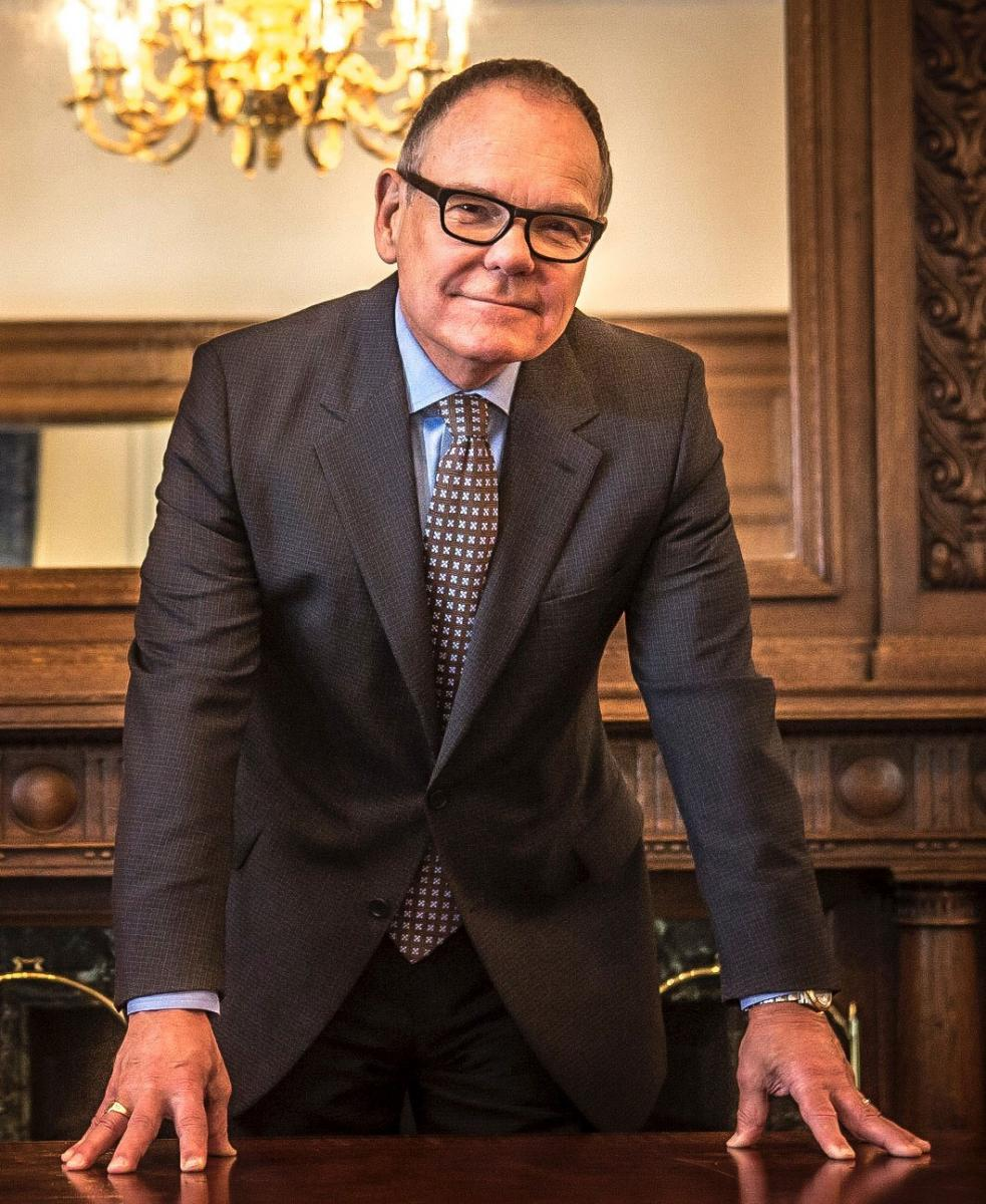 Technology writer Don Tapscott, author of the book 'Blockchain Revolution'